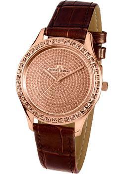 fashion наручные  женские часы Jacques Lemans 1-1841ZJ. Коллекция Rome