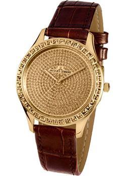 fashion наручные  женские часы Jacques Lemans 1-1841Zi. Коллекция Rome