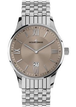 fashion наручные  мужские часы Jacques Lemans 1-1845K. Коллекция London.