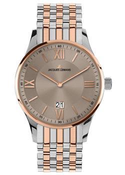 Fashion наручные мужские часы Jacques Lemans 1-1845L. Коллекция London фото