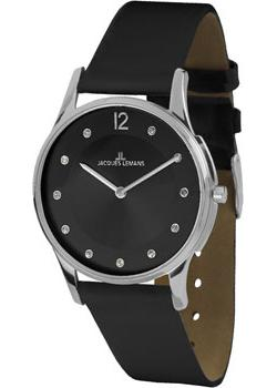fashion наручные  женские часы Jacques Lemans 1-1851K. Коллекция London