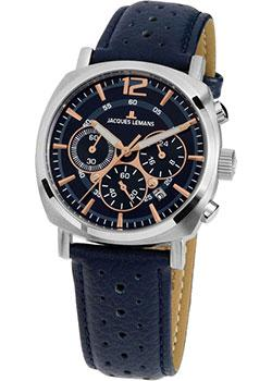 fashion наручные  мужские часы Jacques Lemans 1-1931C. Коллекция Lugano.