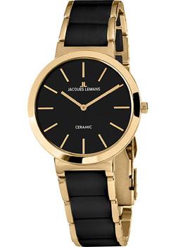 fashion наручные  женские часы Jacques Lemans 1-1999C. Коллекция Ceramic