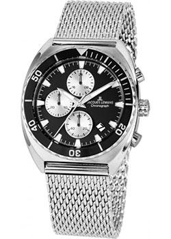 fashion наручные  мужские часы Jacques Lemans 1-2041E. Коллекция Sport.
