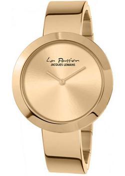 fashion наручные  женские часы Jacques Lemans LP-113G. Коллекция La Passion