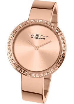 fashion наручные  женские часы Jacques Lemans LP-114B. Коллекция La Passion