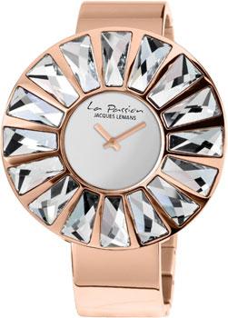 fashion наручные  женские часы Jacques Lemans LP-120B. Коллекция La Passion