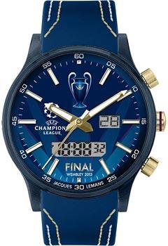 fashion наручные мужские часы Jacques Lemans U-41C. Коллекция UEFA