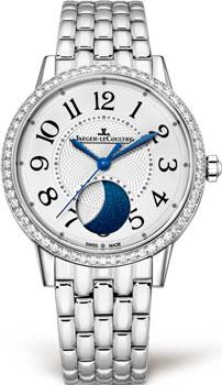 Женские часы jaeger-lecoultre reverso lady из коллекции reverso корпус из желтого золота и стали с белым циферблатом