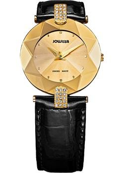Швейцарские наручные  женские часы Jowissa J5.009.M. Коллекция Faceted.