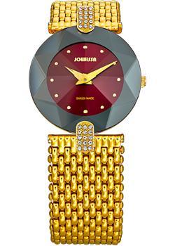 Швейцарские наручные  женские часы Jowissa J5.014.M. Коллекция Faceted