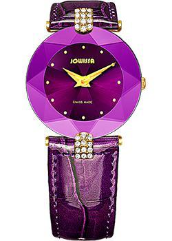 Швейцарские наручные  женские часы Jowissa J5.015.M. Коллекция Faceted