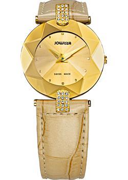 Швейцарские наручные  женские часы Jowissa J5.187.M. Коллекция Faceted