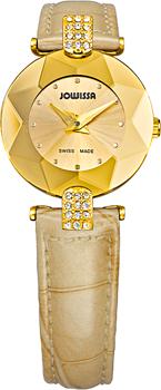 Швейцарские наручные  женские часы Jowissa J5.187.S. Коллекция Faceted