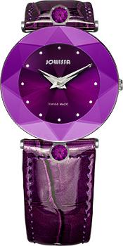 Швейцарские наручные  женские часы Jowissa J5.208.M. Коллекция Faceted