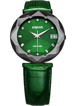 Швейцарские наручные  женские часы Jowissa J5.223.XL. Коллекция Crystal 3