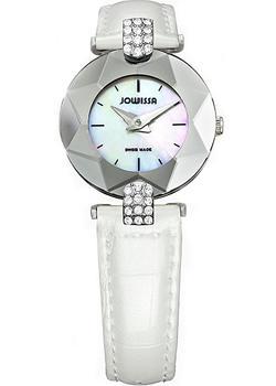 Швейцарские наручные  женские часы Jowissa J5.275.S. Коллекция Faceted