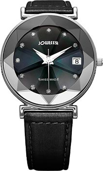 Швейцарские наручные  женские часы Jowissa J5.318.L. Коллекция Facet