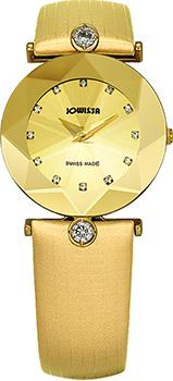 Швейцарские наручные  женские часы Jowissa J5.436.M. Коллекция Cristallo.