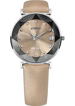 Швейцарские наручные  женские часы Jowissa J5.500.L. Коллекция Facet