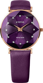 Швейцарские наручные  женские часы Jowissa J5.550.L. Коллекция Facet
