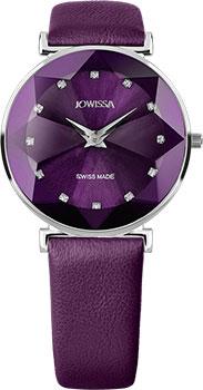 Швейцарские наручные  женские часы Jowissa J5.555.L. Коллекция Facet