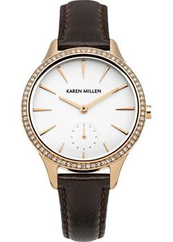 fashion наручные  женские часы Karen Millen KM112TRGA. Коллекция SS-15