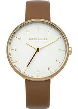 fashion наручные  женские часы Karen Millen KM135TG. Коллекция SS16