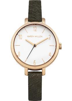 fashion наручные  женские часы Karen Millen KM138ERG. Коллекция SS-16