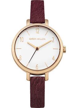 fashion наручные  женские часы Karen Millen KM138VRG. Коллекция SS-16