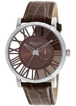 fashion наручные  мужские часы Kenneth Cole 10020811. Коллекция Transparency.