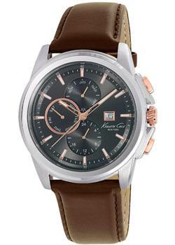 fashion наручные мужские часы Kenneth Cole 10025916. Коллекция Dress Sport