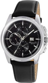 fashion наручные мужские часы Kenneth Cole 10025919. Коллекция Dress Sport
