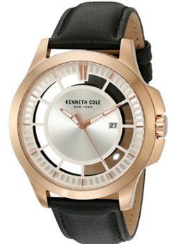 fashion наручные  мужские часы Kenneth Cole 10027460. Коллекция Transparent.