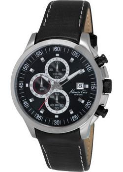 Купить Fashion наручные мужские часы Kenneth Cole IKC8093. Коллекция Dress Sport