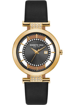 fashion наручные  женские часы Kenneth Cole KC15005008. Коллекция Transparent