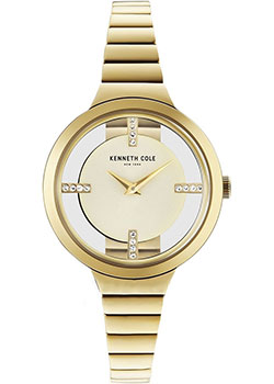 fashion наручные  женские часы Kenneth Cole KC50187008. Коллекция Transparent.