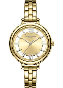 fashion наручные  женские часы Kenneth Cole KC50789005. Коллекция Transparent.