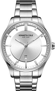 fashion наручные  мужские часы Kenneth Cole KC50919004. Коллекция Transparent.