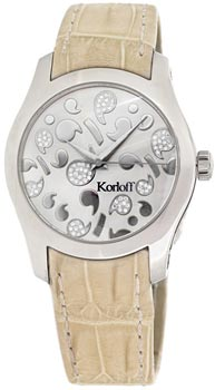 Швейцарские наручные  женские часы Korloff CAK38.1A9.379M