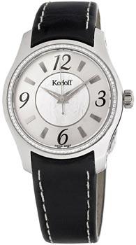 Швейцарские наручные  женские часы Korloff CQK38.2K9.375M