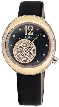 Швейцарские наручные  женские часы Korloff R40.41PR.A9373