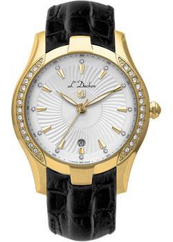 Швейцарские наручные  женские часы L Duchen D201.21.33. Коллекция Ballet