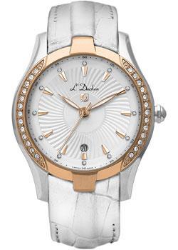 Швейцарские наручные  женские часы L Duchen D201.56.33. Коллекция Ballet