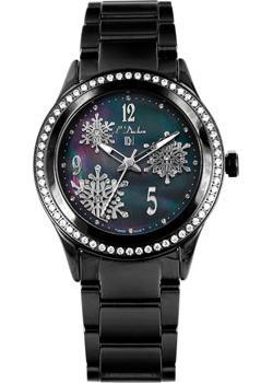 Швейцарские наручные  женские часы L Duchen D241.70.61. Коллекция Cristal