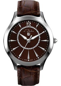 Швейцарские наручные  женские часы L Duchen D271.12.38. Коллекция Viva