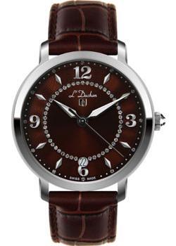 Швейцарские наручные  женские часы L Duchen D281.12.38. Коллекция Sonata