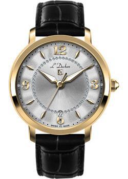 Швейцарские наручные  женские часы L Duchen D281.26.33. Коллекция Sonata