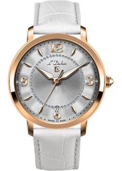 Швейцарские наручные  женские часы L Duchen D281.46.33. Коллекция Sonata