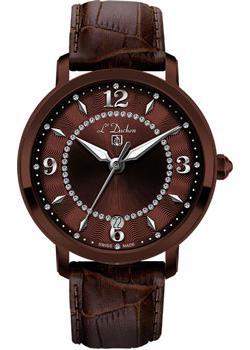 Швейцарские наручные  женские часы L Duchen D281.62.38. Коллекция Sonata